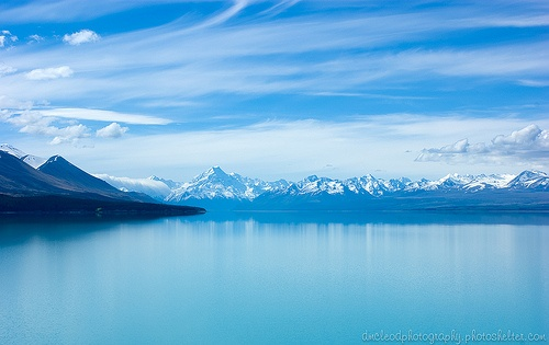 Lake Pukaki, Mt Cook, NZ