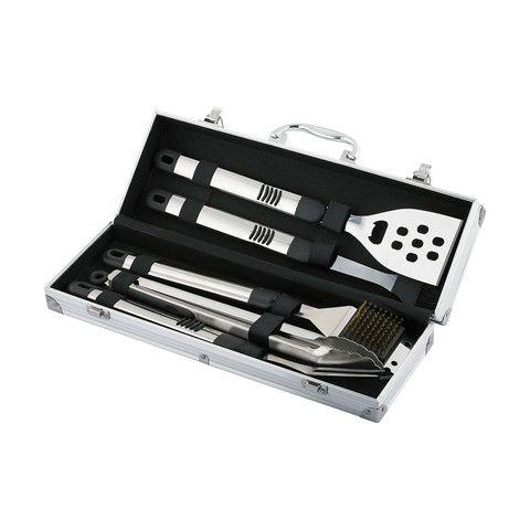6 Piece BBQ Tool Set | Kmart