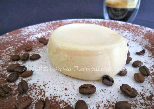 Panna Cotta - An easy sweet end to a lovely dinner! Download the Thermolicious App from iTunes for the full recipe. Website with new recipes coming soon! #Thermomix #Thermochef #sweets #delicious #desserts