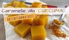 Ricetta delle caramelle alla curcuma senza zucchero facile e veloce. Ecco come fare in casa buonissime gelatine alla curcuma dal potere antinfiammatorio...