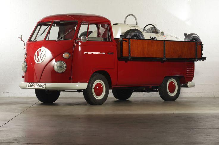 "1964 Vw Truck : Vw t bus pickup ""renntransporter vintage"