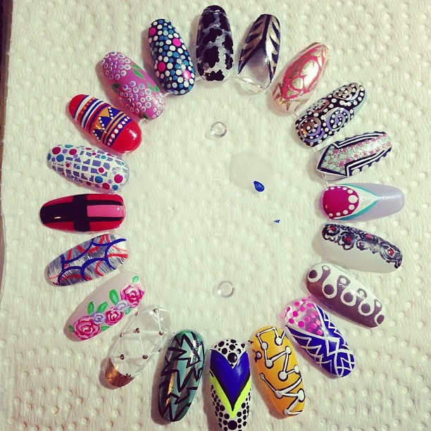 31 best Nail wheel images on Pinterest   Wheels, Nail art wheel and ...