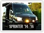 Aluminus Products, roof racks and bumpers, Mercedes Sprinter 2014-2016