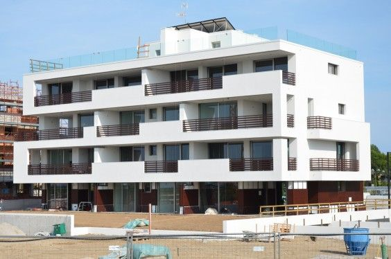 June 2014 - Building A almost finished! #workinprogress #soleis #realestate #forsale #italy #lignano