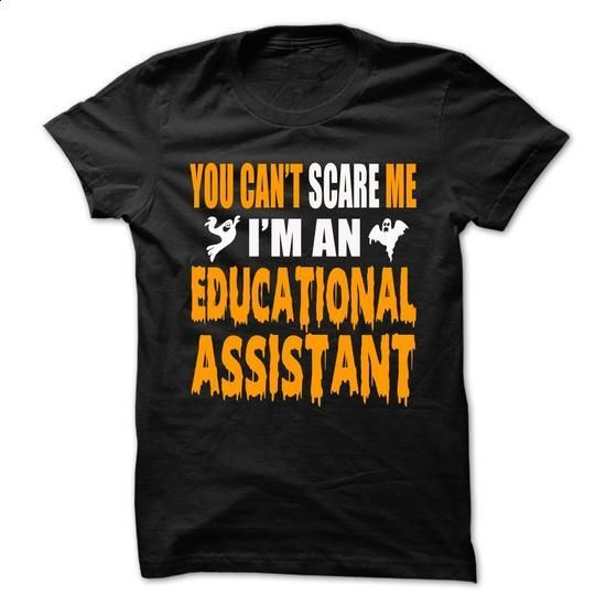 Halloween Tshirt For Educational Assistant - #sweatshirt ideas #sweater diy. I WANT THIS => https://www.sunfrog.com/Holidays/Halloween-Tshirt-For-Educational-Assistant.html?68278