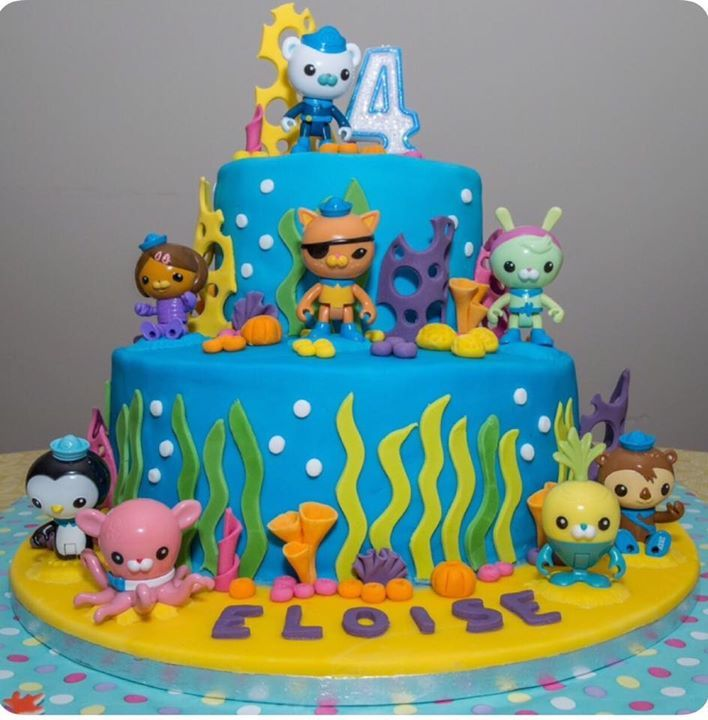27 best Cakes Octonauts images on Pinterest Birthdays Octonauts