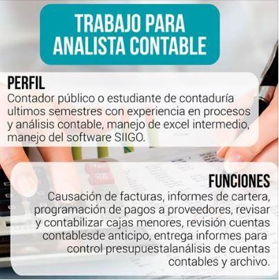 @fundacionsiigo En Bogotá, aplica a ésta oferta enviando tu hoja de vida a talentohumano@ossalopez.com y no olvides revisar todas las opciones de empleo que tenemos disponibles para ti http://bit.ly/23q9Id1