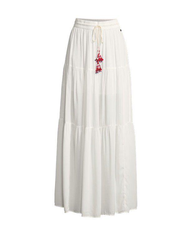Pepe Jeans Maxi-skirt Colour ecru