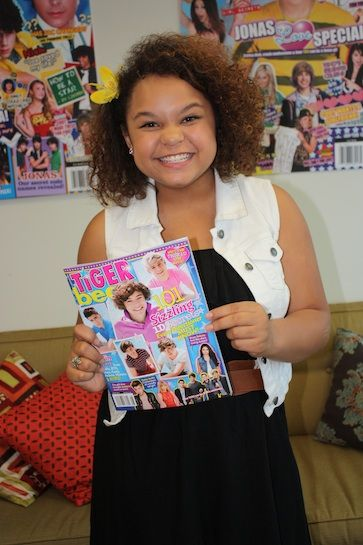 "Rachel Crow recently visited the BOP and TB offices...read what she spilled about touring with BTR and the inspiring message behind ""Mean Girls!"""