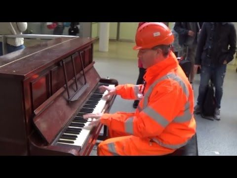 Workman Stuns Audience With His Piano Skills - YouTube
