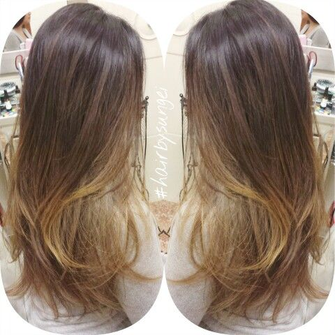 Sombre Natural Ombre Balayage Asian Hair The Art Of Hair