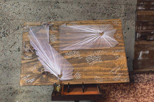 テーブルナンバー・ウェルカムボードにも使える♡ 簡単DIY〈ストリングアート〉が優秀すぎる