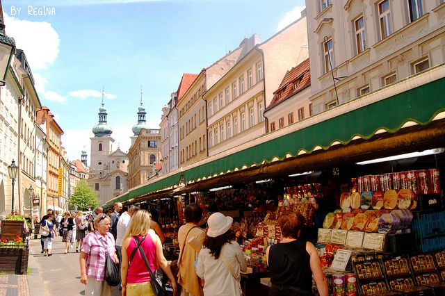 Havelske Trziste (Havel's Market) | This is a great place to find items like wooden toys and marionettes.