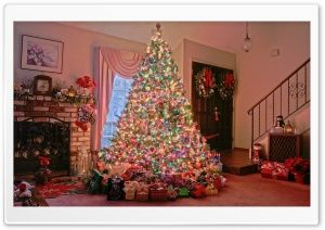 Christmas Tree HD Wide Wallpaper for Widescreen