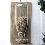 I can create bird feeders with my glass coke bottles.