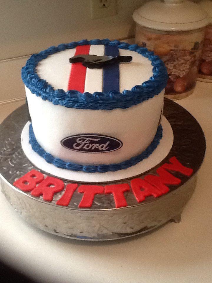Mustang Cake Cakes In 2019 Mustang Cake Cake