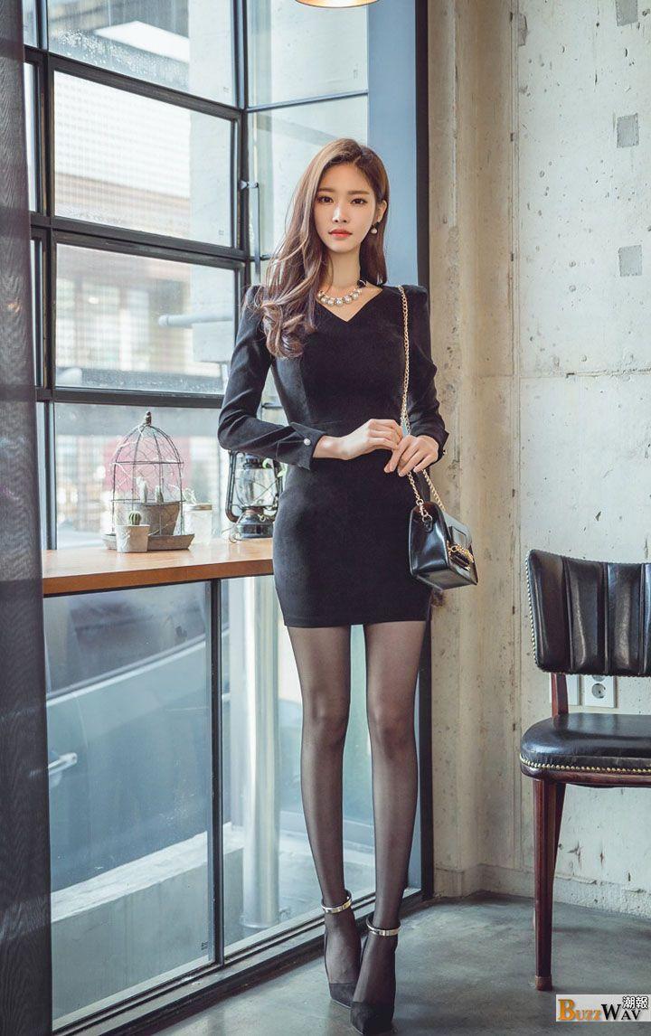 Jung Yoon Gorgeous Fair Skinned Korean Fashion Model -2042