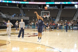 UConn Defeats Idaho, 105 – 37 in NCAA Tournament Opener