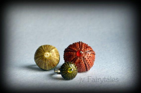 Sea Urchin Ring by jvFairytales on Etsy