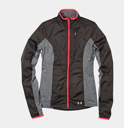 She'll flip over the cute colorblocking and contrasting trim, but will be even more happy when she notices how this Under Armour ColdGear Storm Impassable Jacket ($90) performs: a slim fit for better movement, water-resistant fabric, and 360-degree reflectivity for all those outdoor runs.