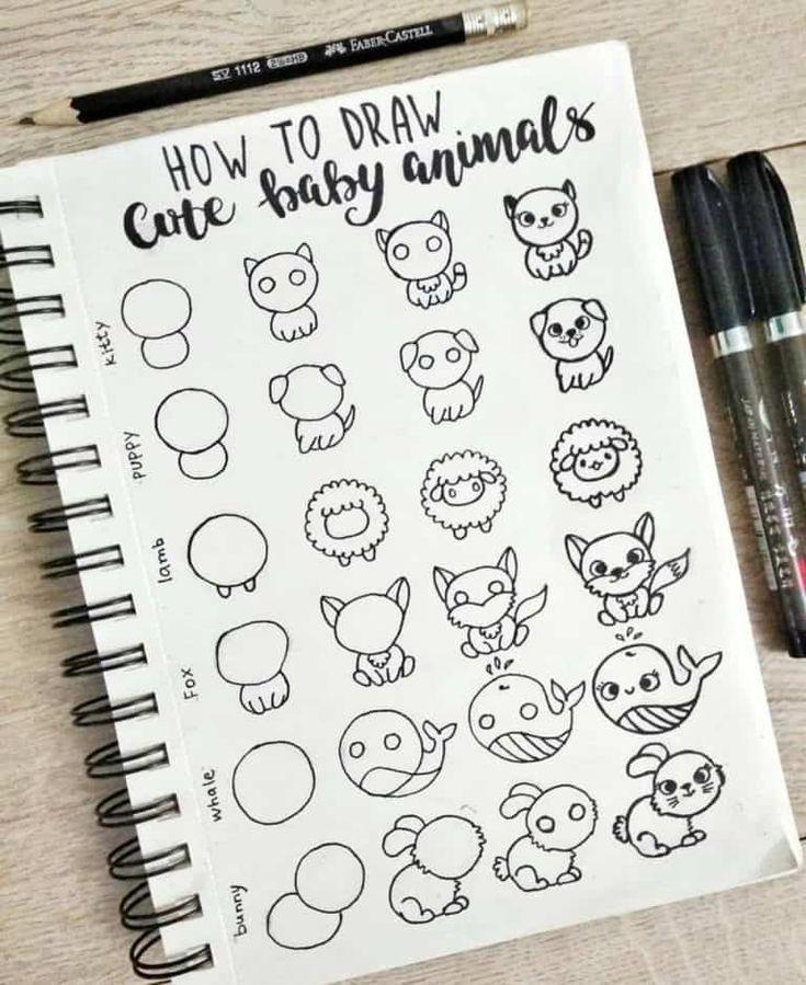 Bullet Journal Doodles: 20 tolle Doodle-Ideen für…