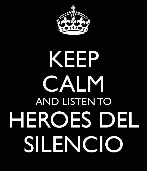 Heroes del Silencio!