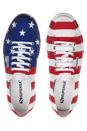 Superga makes the PERFECT Independence Day kicks!