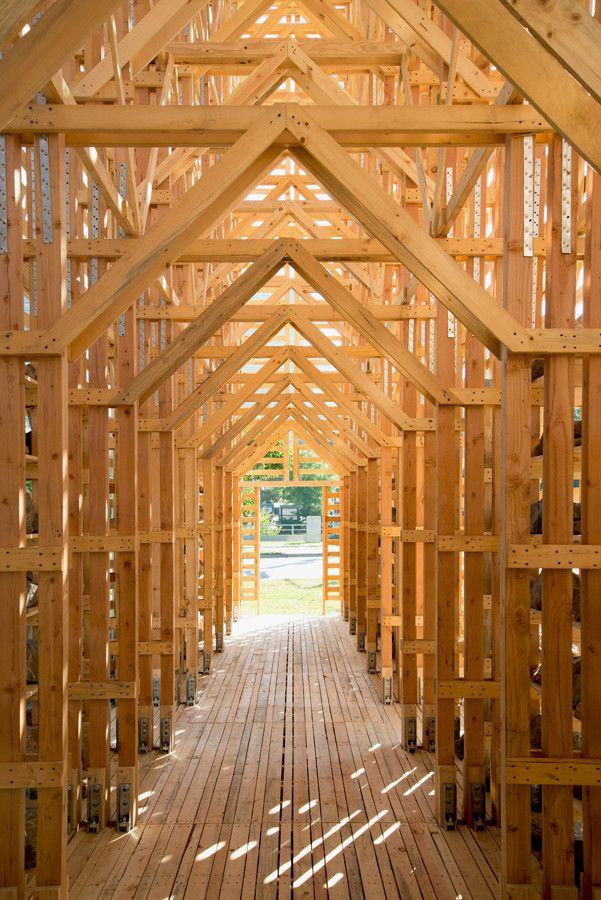 """Arte e Arquitetura: Instalação Temporária """"Mine Pavilion"""" por Pezo Von Ellrichshausen"""