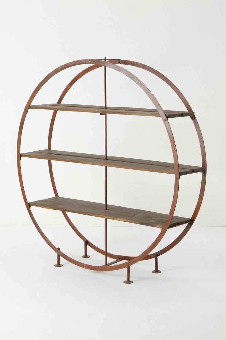 kansai bookcase from anthro $1298: Living Rooms, Anthropology, Books Shelves, Cool Bookshelves, Circle, Kansai Bookcases, Rooms Dividers, Furniture, Books Cases