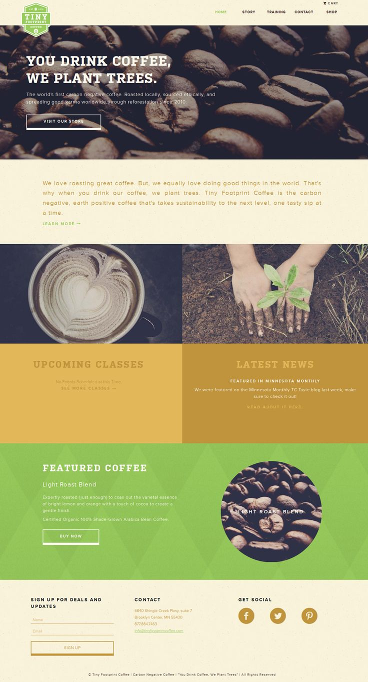 23 best Tea & Coffee websites images on Pinterest | Coffee websites ...