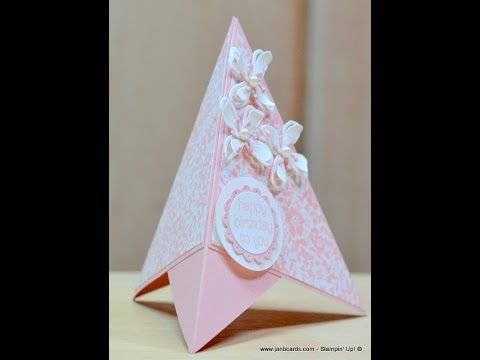 TeePee Card - JanB UK Stampin' Up! Demonstrator Independent - YouTube
