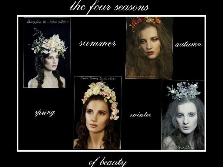 The 4 seasons of beauty