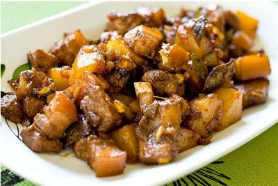 Filipino Pork Adobo Recipe  The Pork Adobo Recipe is one of the oldest and most popular Filipino pork recipes. You can also use chicken, or a combination of both. You can use healthier cuts of pork as well.