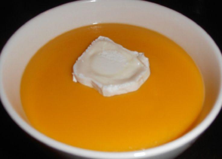 Recette : Crème de carottes.
