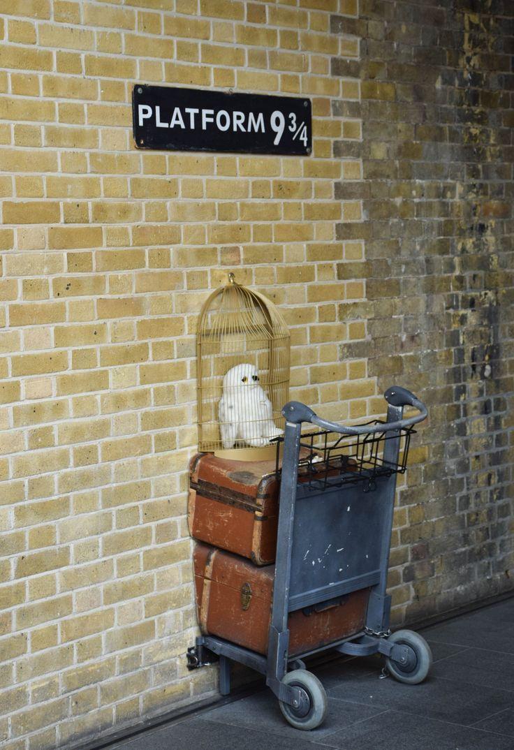 Harry Potter Kings Cross Station London