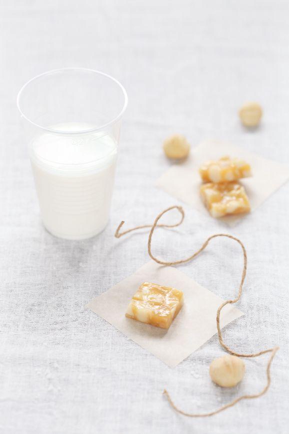 Verdade de sabor: Caramel and honey toffee macadamia / Caramelos de ...