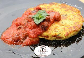 Le Ricette di Valentina: Hamburger di melanzane e quinoa con salsa di pomod...