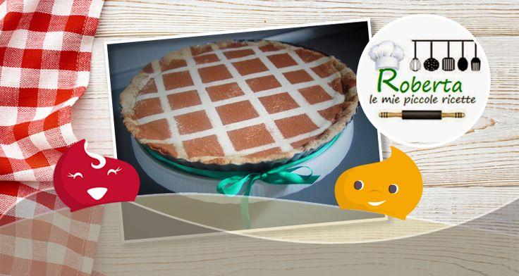#Ricette Dolci - #Crostrata Espressa di Roberta Ricette - ChiacchiereDolci.it
