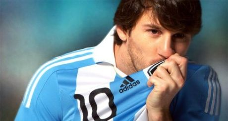 Adidas brings Messi and Facebook to the fore