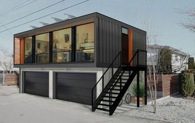 Дома из контейнеров (морских): проекты, цены, фото идей ...