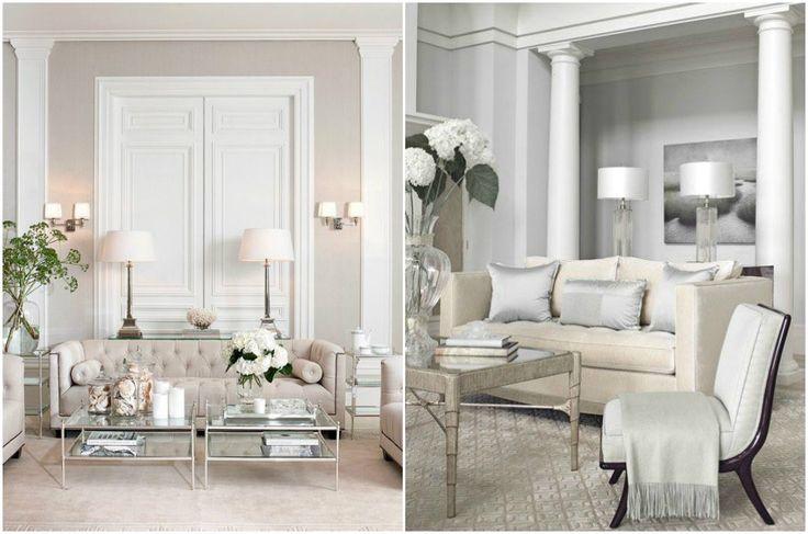 Оформление гостиной в классическом стиле #мебель #классика #классический #стиль