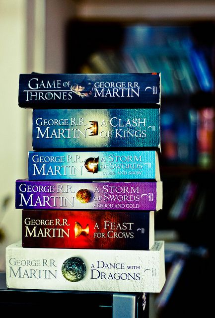 So the past several weeks have been spent working my way through the Song of Ice and Fire series (Game of Thrones) and I'm HOOKED. Highly recommend!