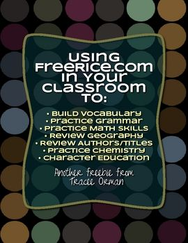 36 best science classroom websites images on pinterest classroom student log teachers guide to using freerice in your classroom free download fandeluxe Gallery