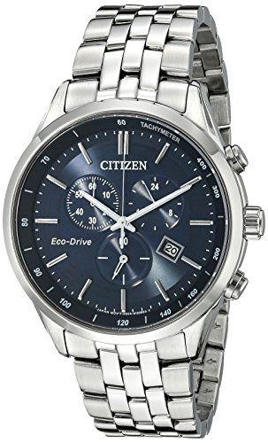 Citizen Men's AT2141-52L Silver-Tone Stainless Steel Watch with Link Bracelet - http://www.darrenblogs.com/2016/12/citizen-mens-at2141-52l-silver-tone-stainless-steel-watch-with-link-bracelet/
