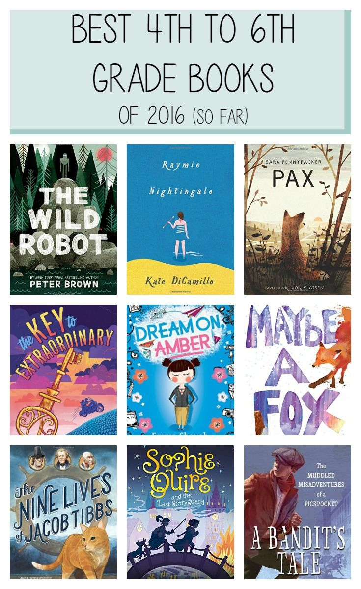 13 of the year's best 4th to 6th grade books based on critical reviews, NYT Bestseller lists, Amazon and Goodreads reviews, and librarian and educator blogs.