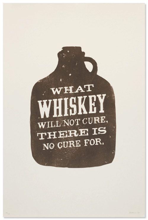 whiskey.