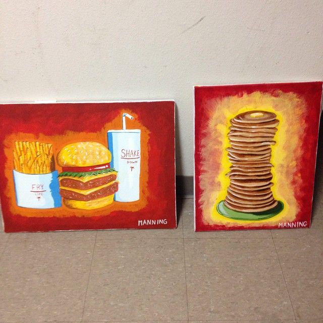 Two down #art #design #shake #syrup #paint #painting #pancakes #design #graphicdesign #food #fry #shake #ihop #cheeseburger #foodnetwork #Tulsa #Oklahoma #osu #osuit #america #usa #IAmViscom #unicorns #munchies #innout #forsale