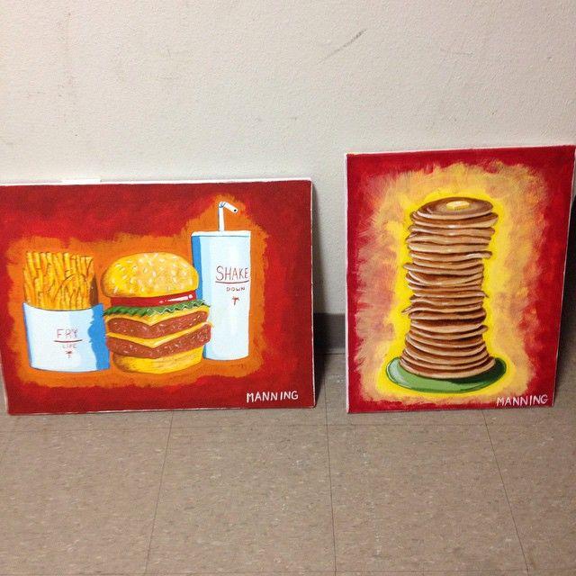 Two down #art #design #shake #syrup #paint #painting #pancakes #design #graphicdesign #food #fry #shake #ihop #cheeseburger #foodnetwork #Tulsa #Oklahoma #osu #osuit #america #usa #IAmViscom #unicorns #munchies #innout #forsale