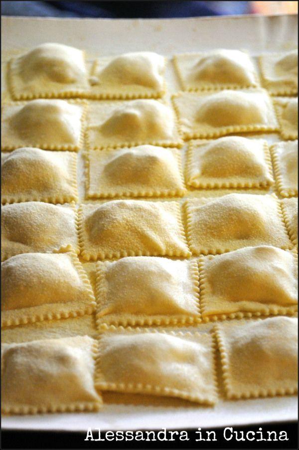 Ravioli di indivia con salsa di porri « Alessandra in cucina...