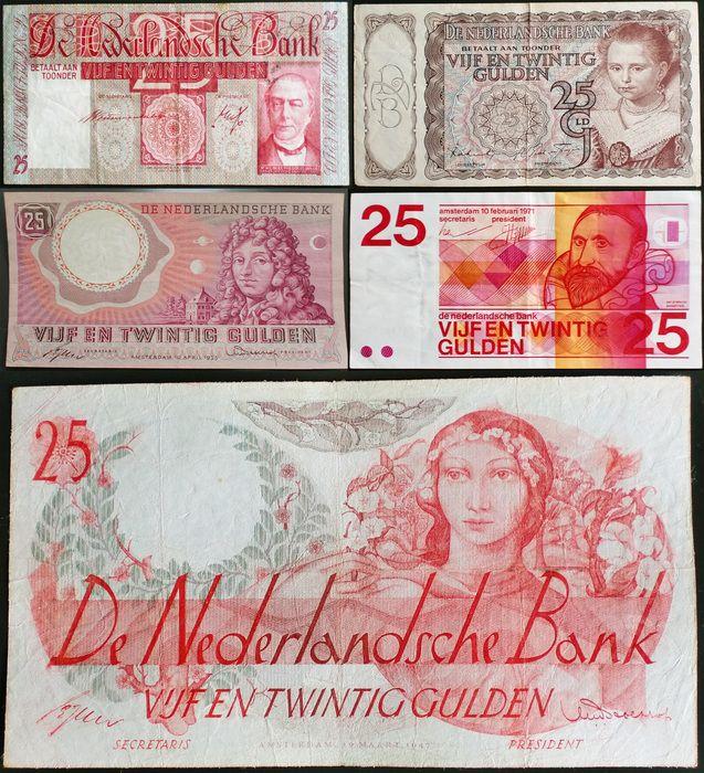 Nederlands -  25 Gulden 1931/1971